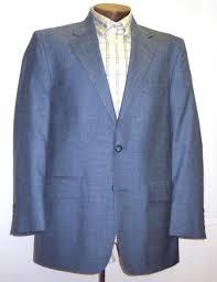 navy blue sport coat