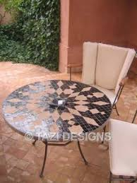 mosaic table designs