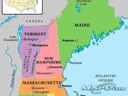 maine new hampshire map