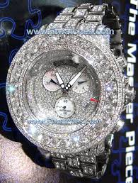 custom diamond watch