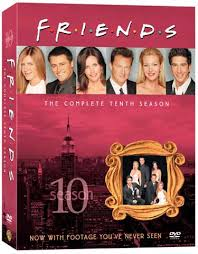 friends season 10 dvds