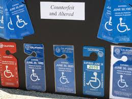 disabled placards