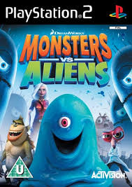 monsters vs aliens playstation 2