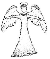 angel coloring books