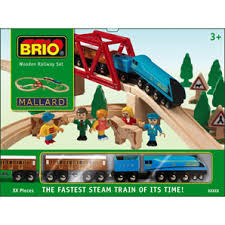 mallard train set
