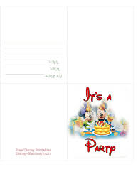 party invitation cards