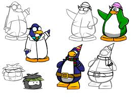 club penguin drawings