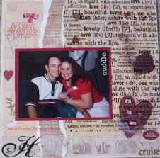 scrapbook love layouts