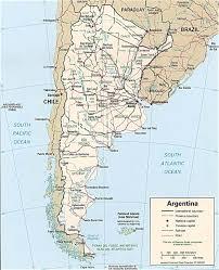 republica argentina mapa