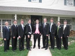 guys prom