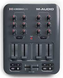 m audio mixing board