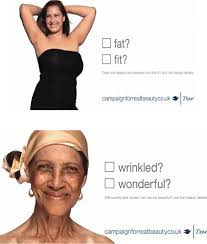 beauty advertisement