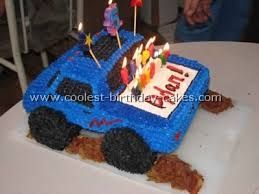 birthday cakes truck