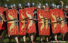 roman soldiers shield