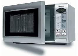 microwave door
