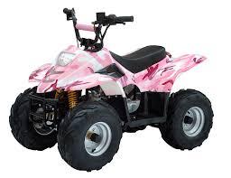 pink camo atv