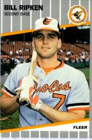 bill ripken baseball card