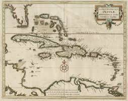 dutch west indies map