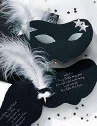 masquerade invitation ideas