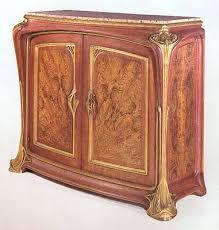 art nouveau furnitures