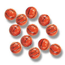 chocolate basketballs