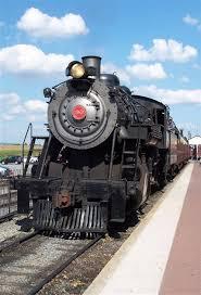 railroad steam engine