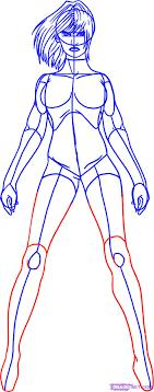draw a superhero