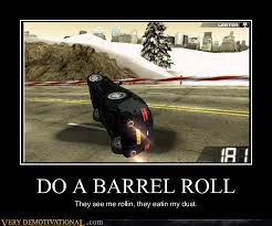 DO A BARREL ROLL by