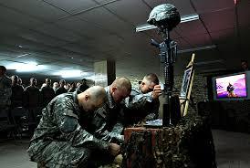 fallen soldiers cross