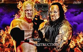 kane and undertaker wallpaper