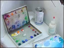 acrylic palette