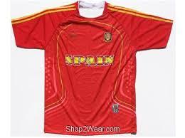 spain soccer uniform