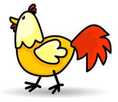 picture of cartoon chicken