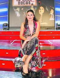 presentadora de television