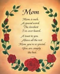mother birthday poem