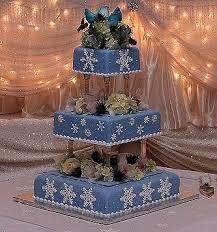 snow flake cakes
