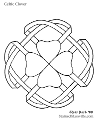 celtic stained glass patterns