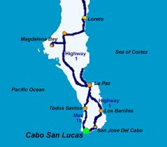 cabos san lucas map