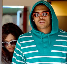 chris brown with new girlfriend