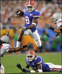 Wide receiver Percy Harvin is
