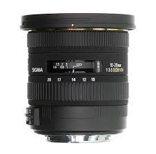 10 20mm lenses