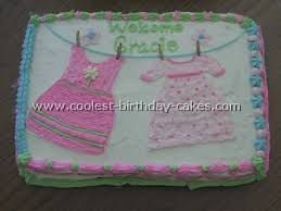 baby shower cakes for a girl