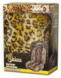 leopard print seat