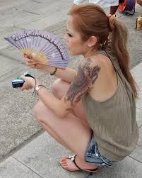 beach fan