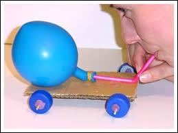 balloon powered racer
