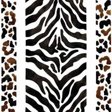 animal print stencil