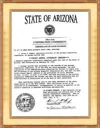 certificate of goodstanding