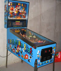 super mario pinball machine