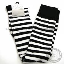 black over knee socks
