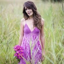 purple sun dress